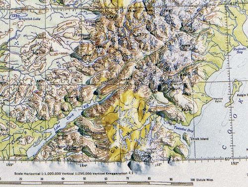 MapCarte Mt McKinley By US Army Corp Of Engineers - Mt mckinley on us map