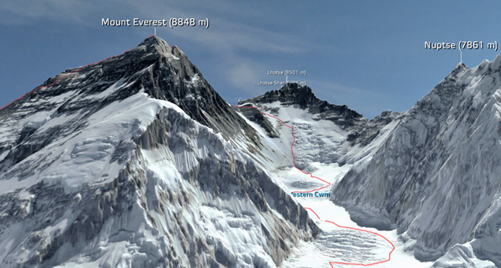 MapCarte 149/365: Mt Everest in 3D by 3D RealityMaps, 2011 ...