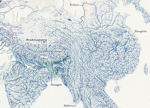 Mapcarte 171 365 World Of Rivers By National Geographic 2007