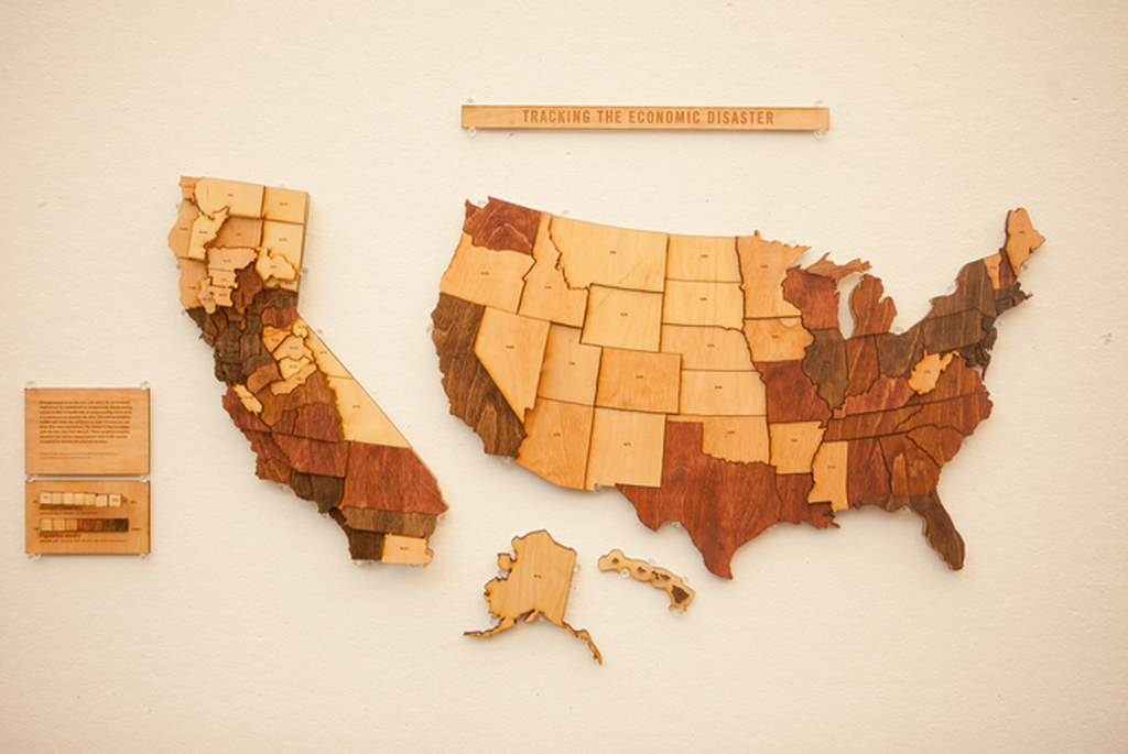 Elevation Wood Density : Mapcarte tracking the economic disaster by daniel