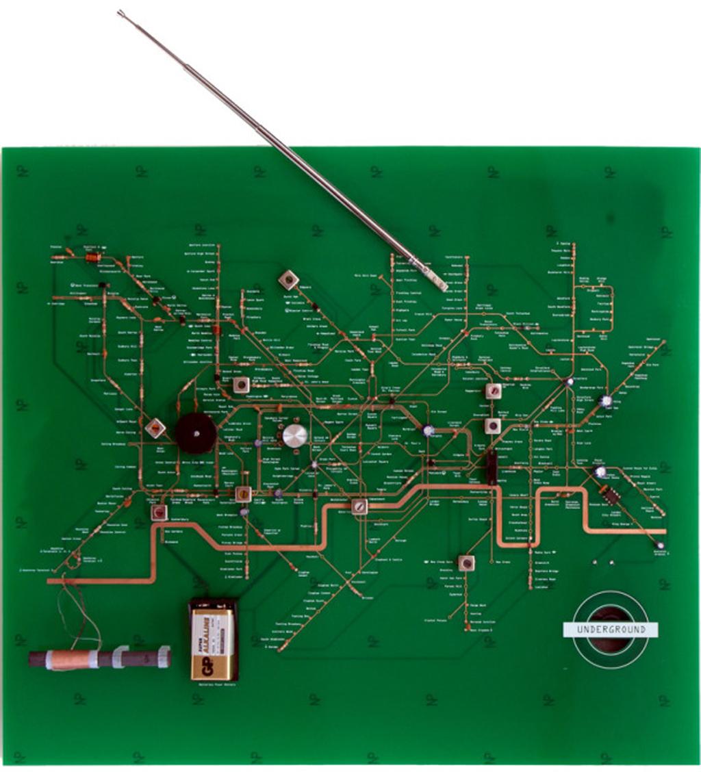 MapCarte 193/365: London Underground Circuit Map Radio by Yuri ...
