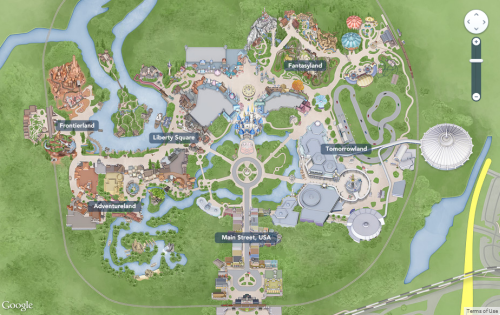 Wonderful MapCarte231_disney
