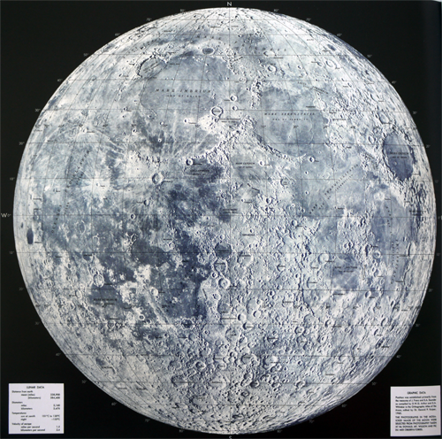map of moon landings - photo #17