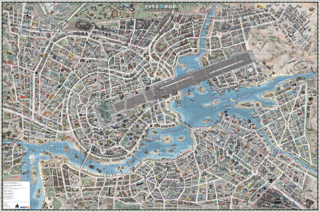 music | Commission on Map Design on drawing a city map, create a city map, design a helmet,