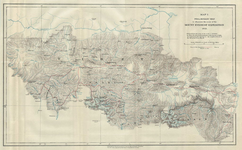 Commission on Map Design | Website of the newly ... George Mallory And Andrew Irvine